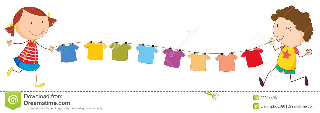 clipart hanging clothes - photo #31