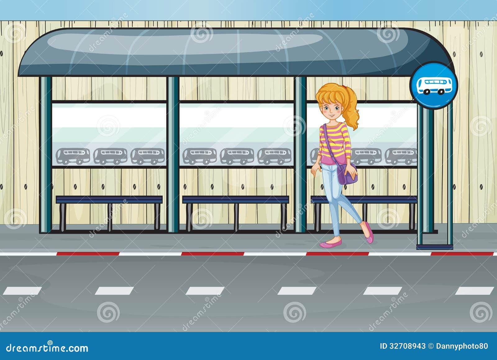 Секс на автобусной остановке 14 фотография