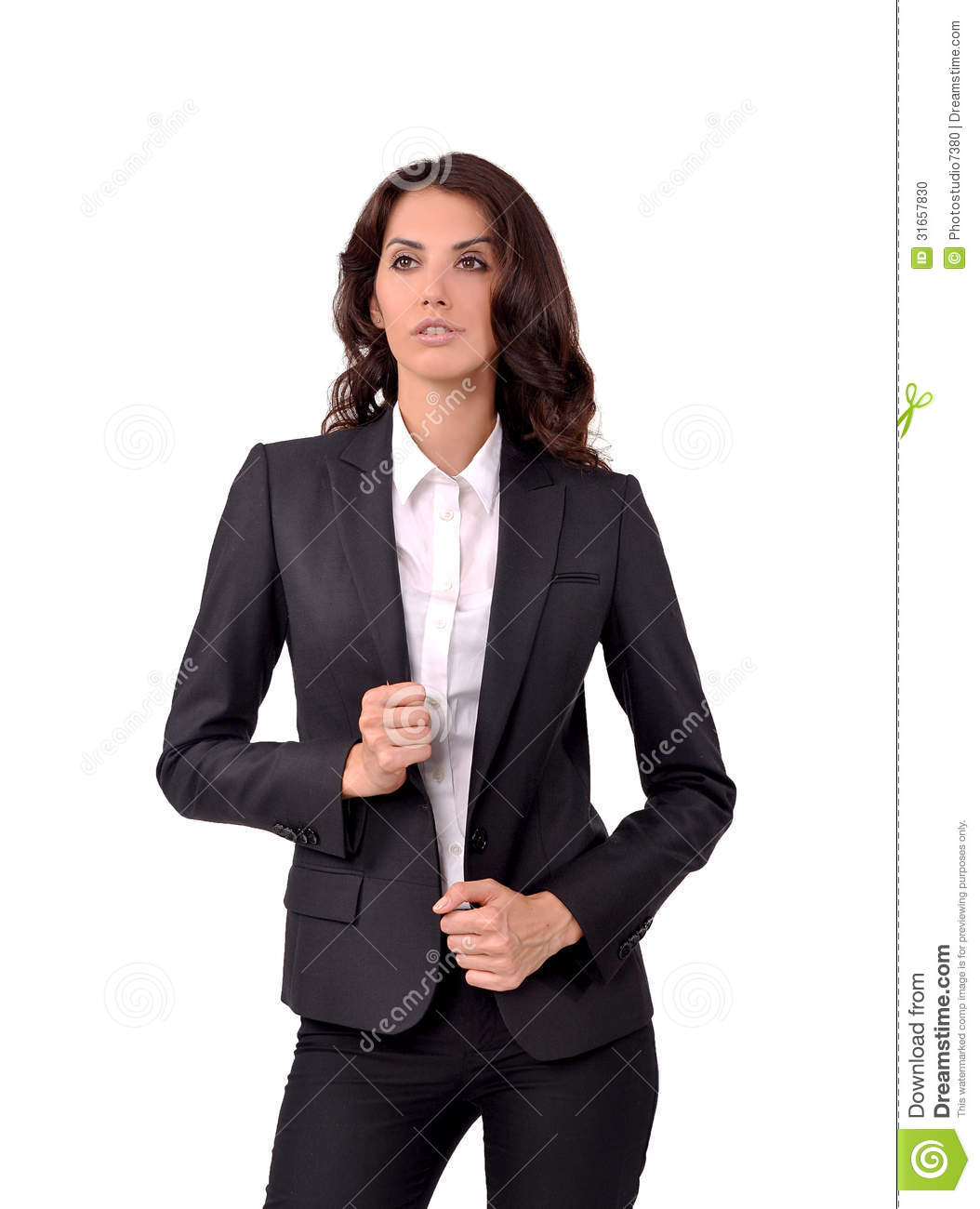 Girl In A Business Suit Stock Photo Image 31657830