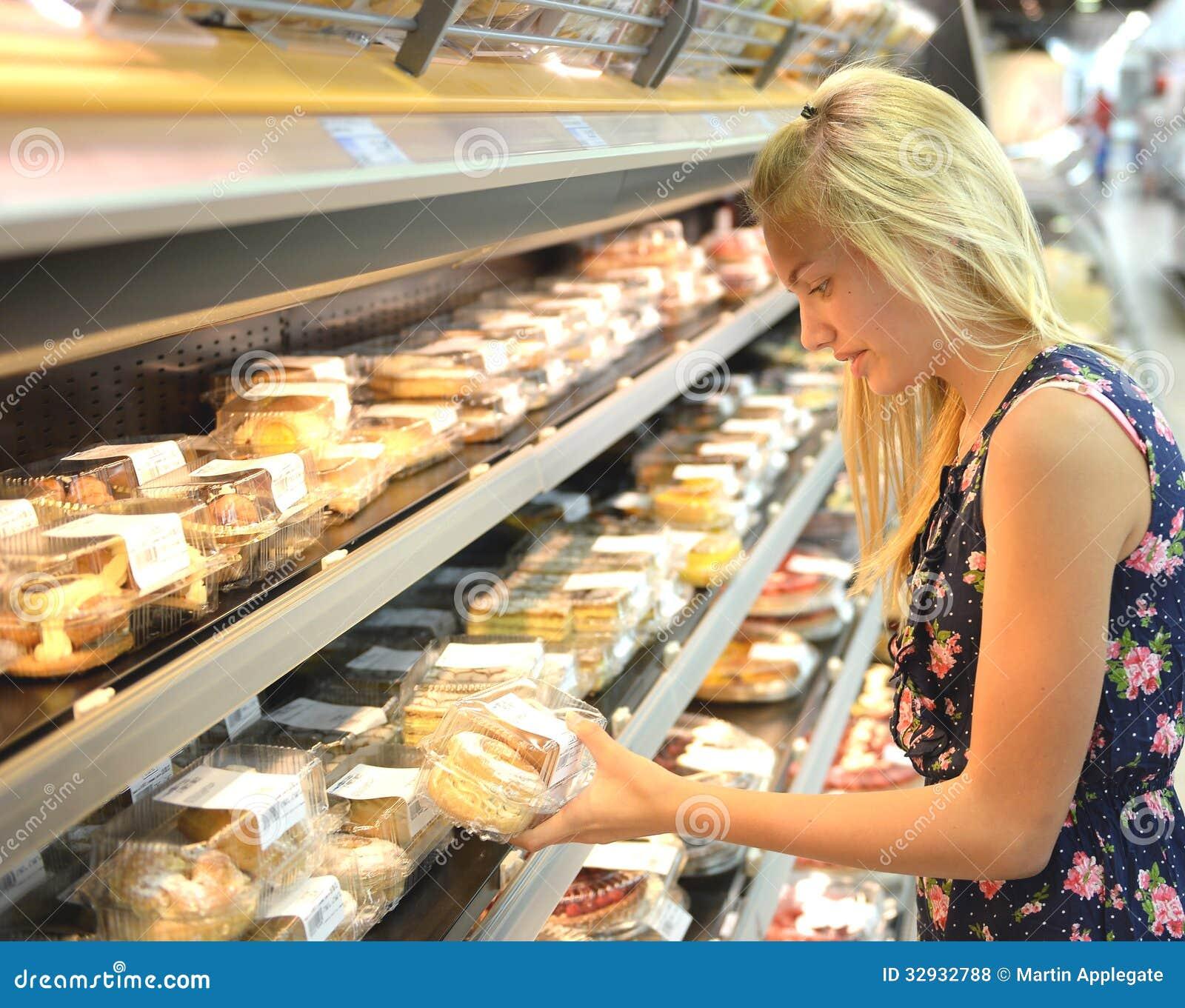 Supermarket Cake With Image