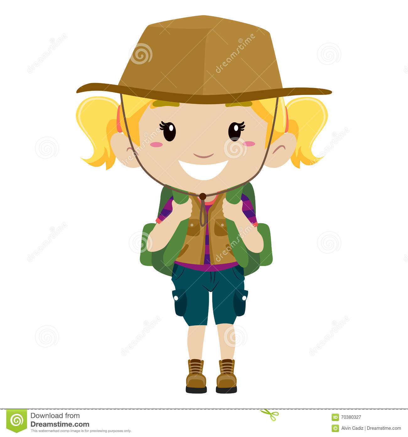 Girl Scout Camping Clipart Girlscout Cartoons, Il...