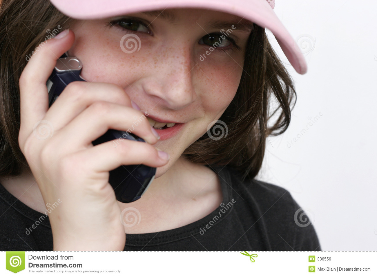 Girl on cell