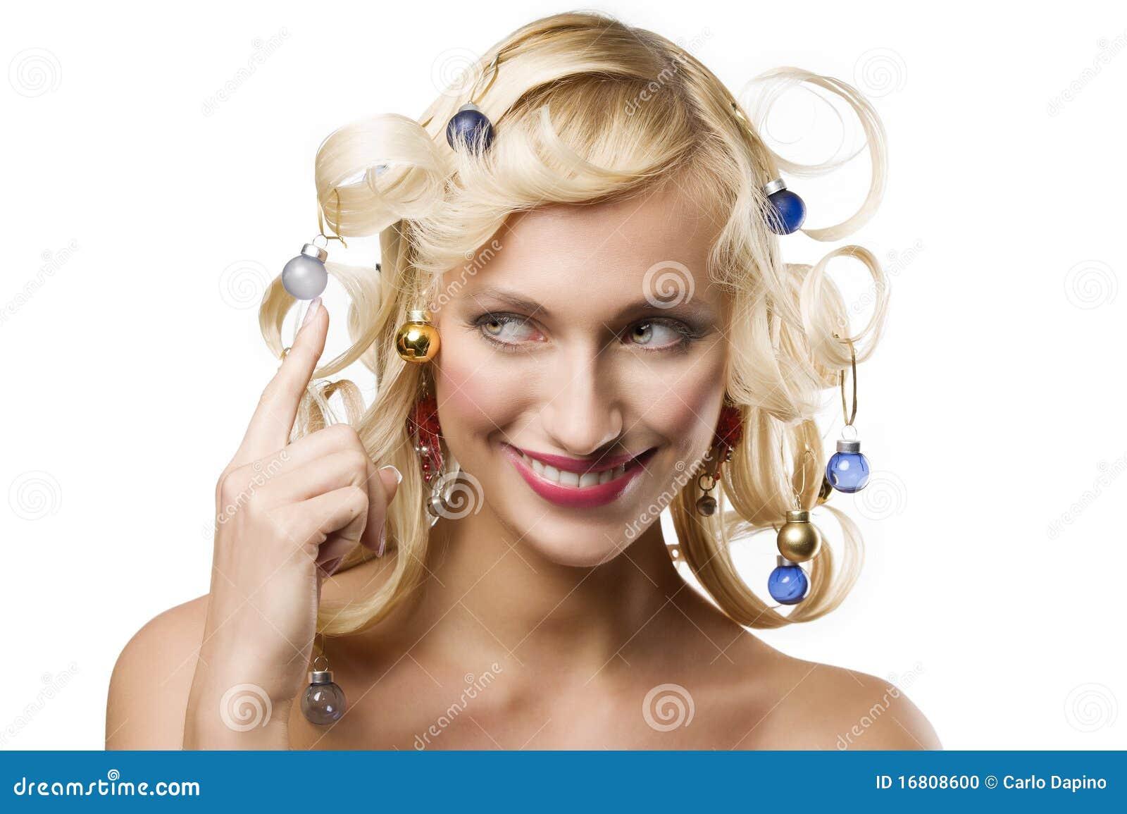 Большой нос у девушки прически