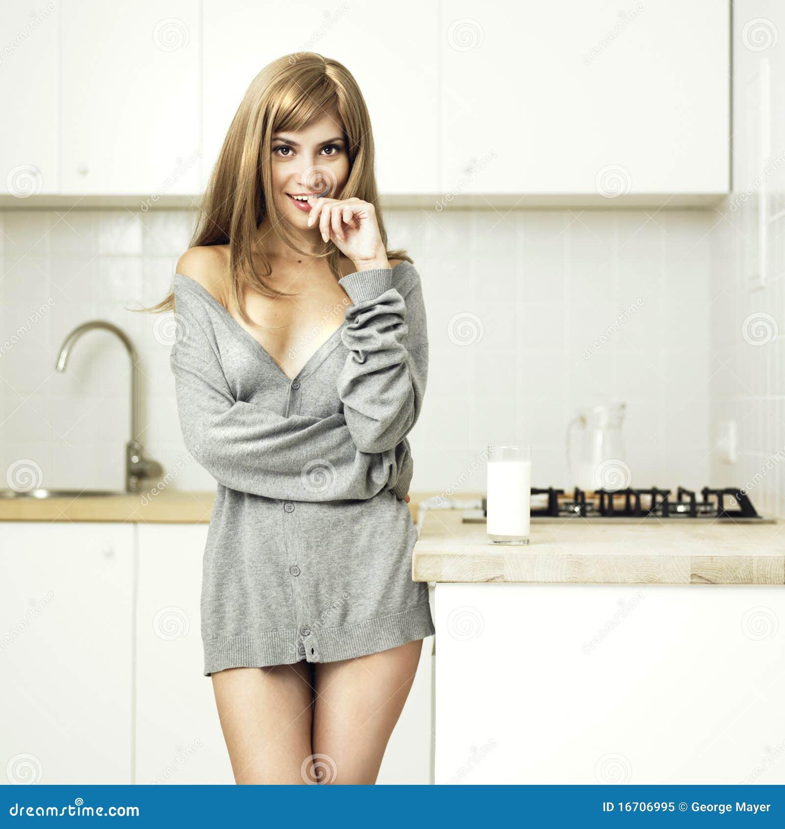 Beautiful Cozy Girl Home Kitchen ...