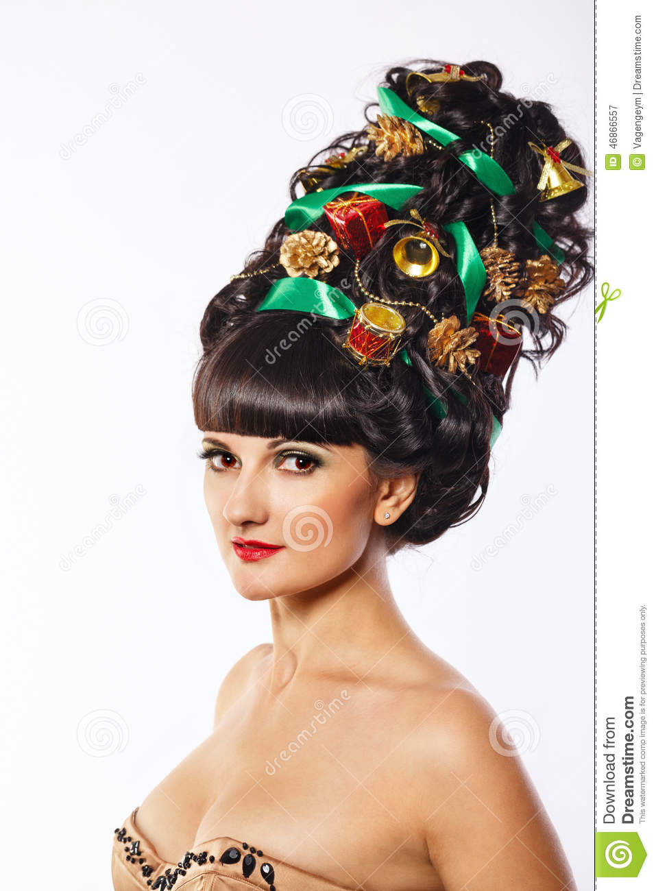 creative style hair and with creative hair style stock image 6867