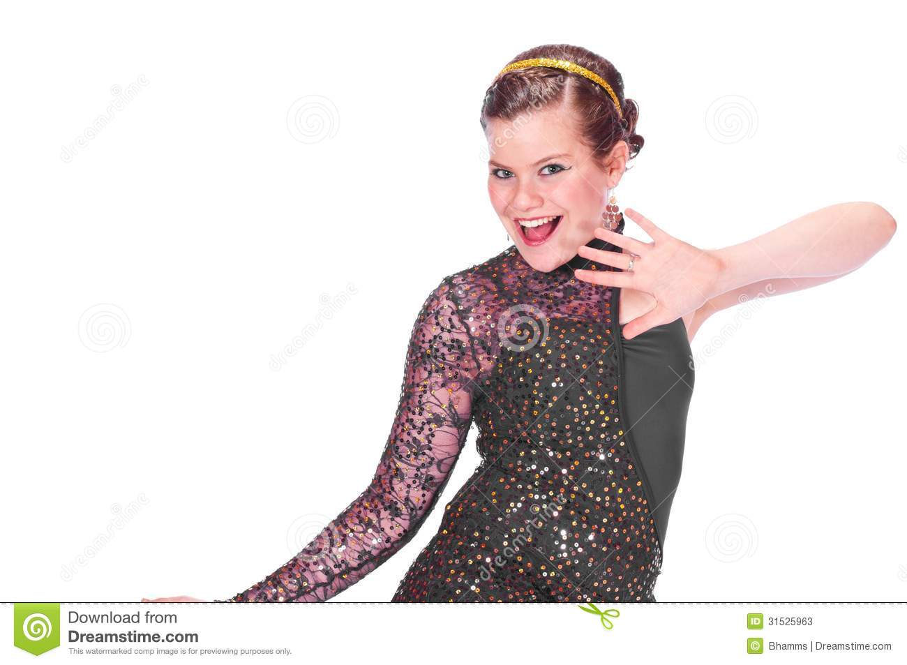 d6fed2250 Girl in dance Costumes stock image. Image of female