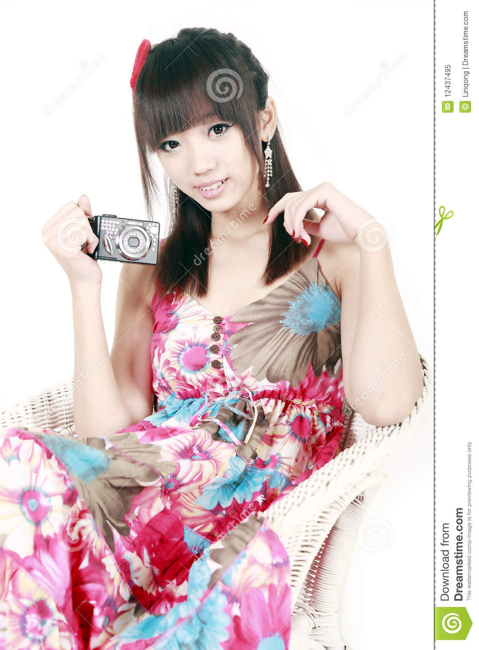 preteen girl with digital camera royalty free stock image  average rent for one bedroom apartment in washington dc