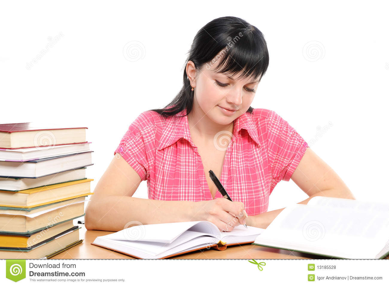 girl doing homework royalty free stock photos image whats the floor plan stan young house love the home plans