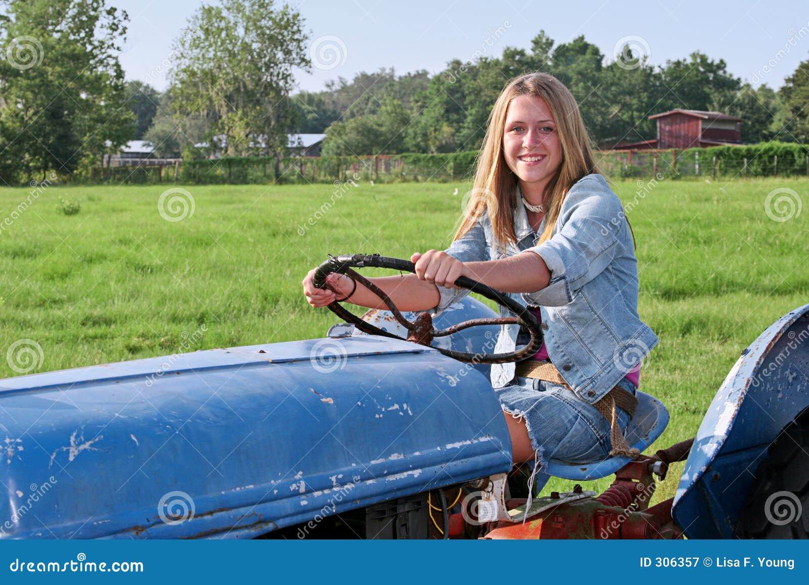 Rezultat iskanja slik za nice looking girl driving tractor