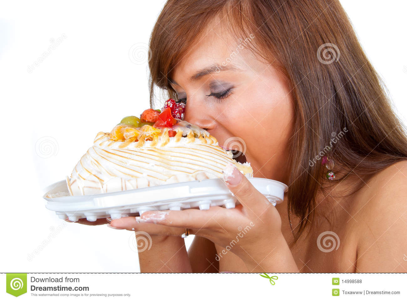 Eating Cakes Images
