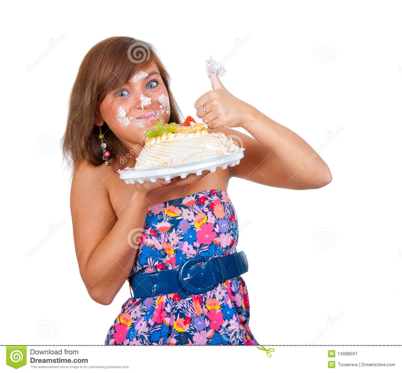 how to fix cake face