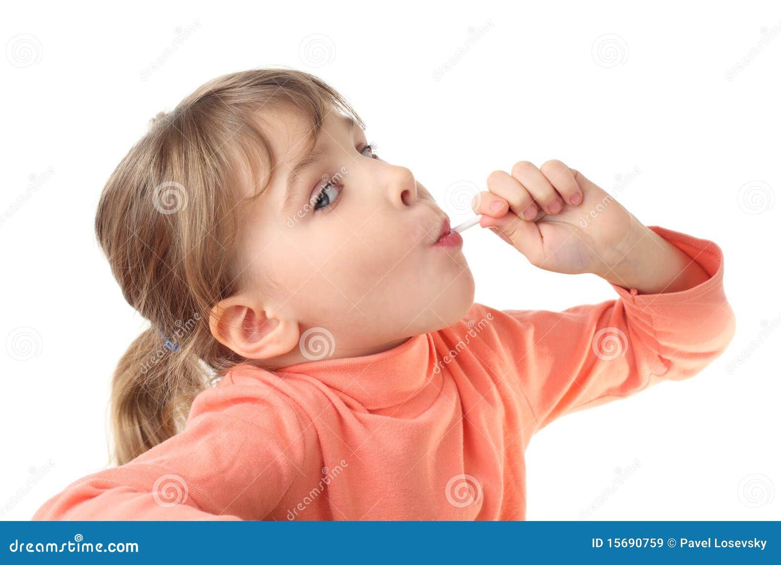 Girl Eating Lol...