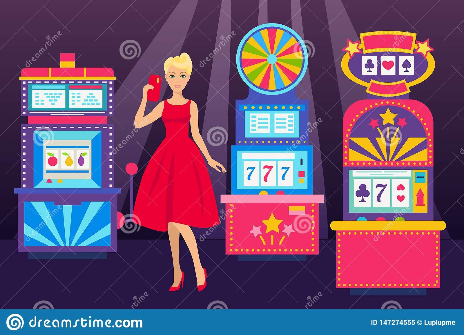 Slot Machine Stock Photos and Images - RF