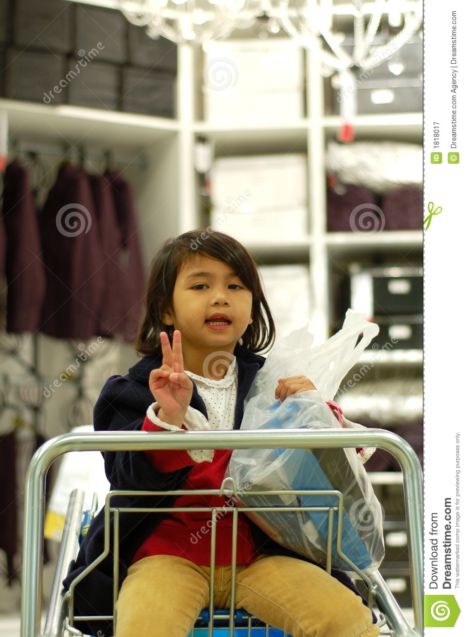 Girl Enjoy Shopping