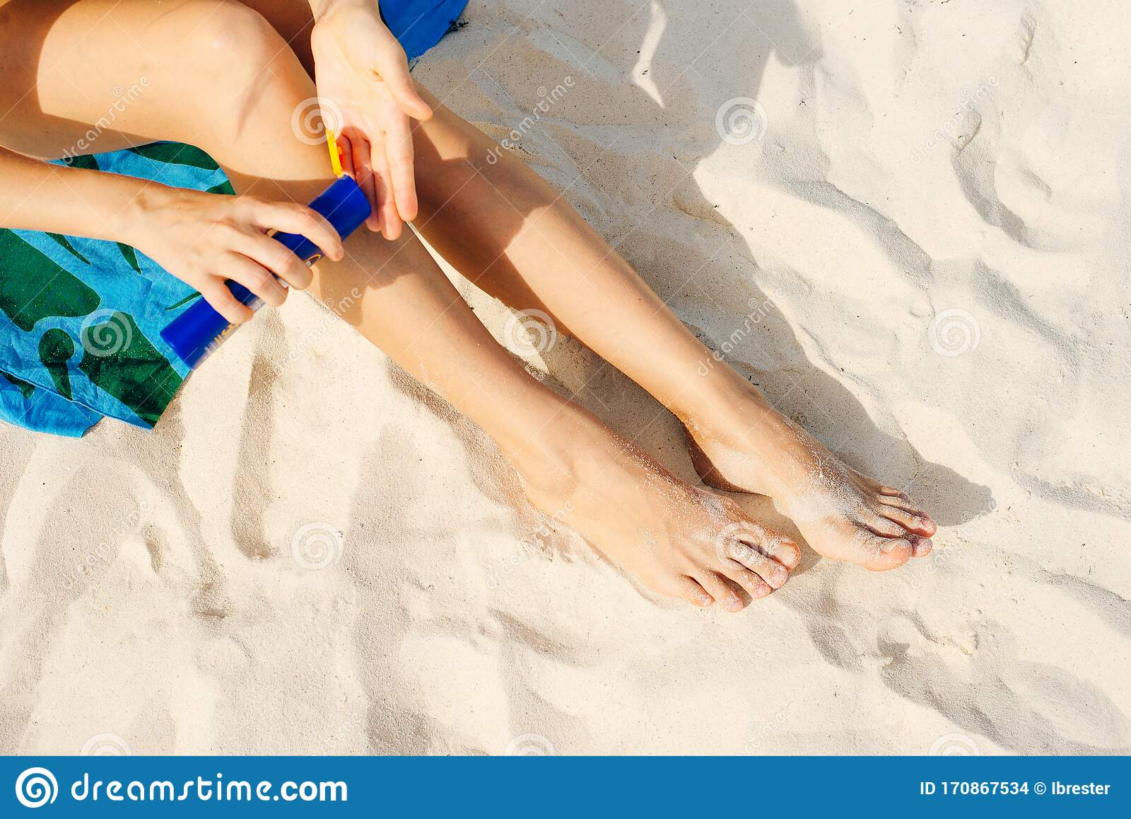 Sunbathing Women Naked Beach Stock Photos, Pictures