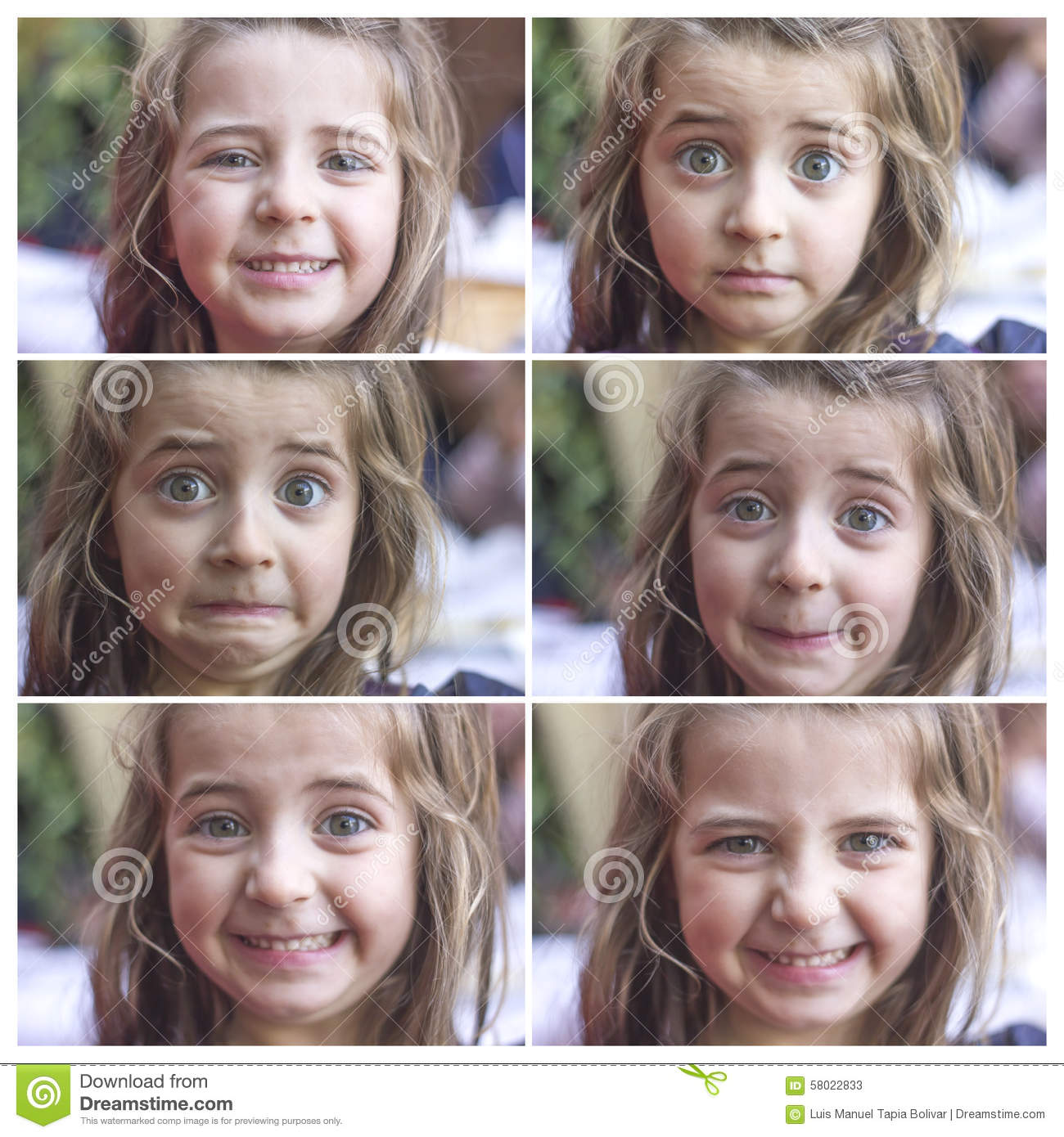 Gender difference in facial expressions