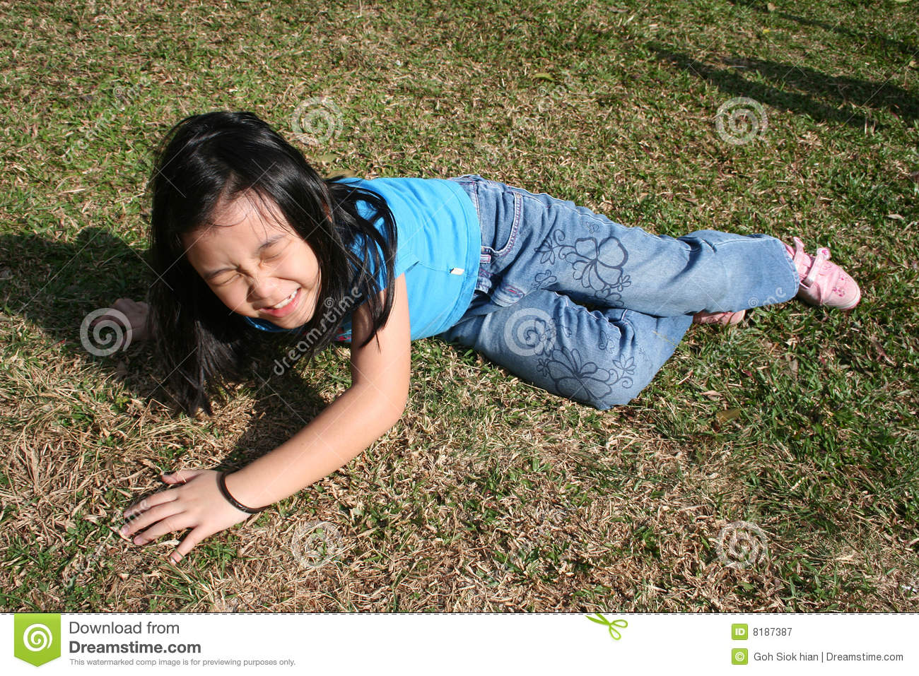 Download Girl falling off stock image. Image of chinese, upset - 8187387