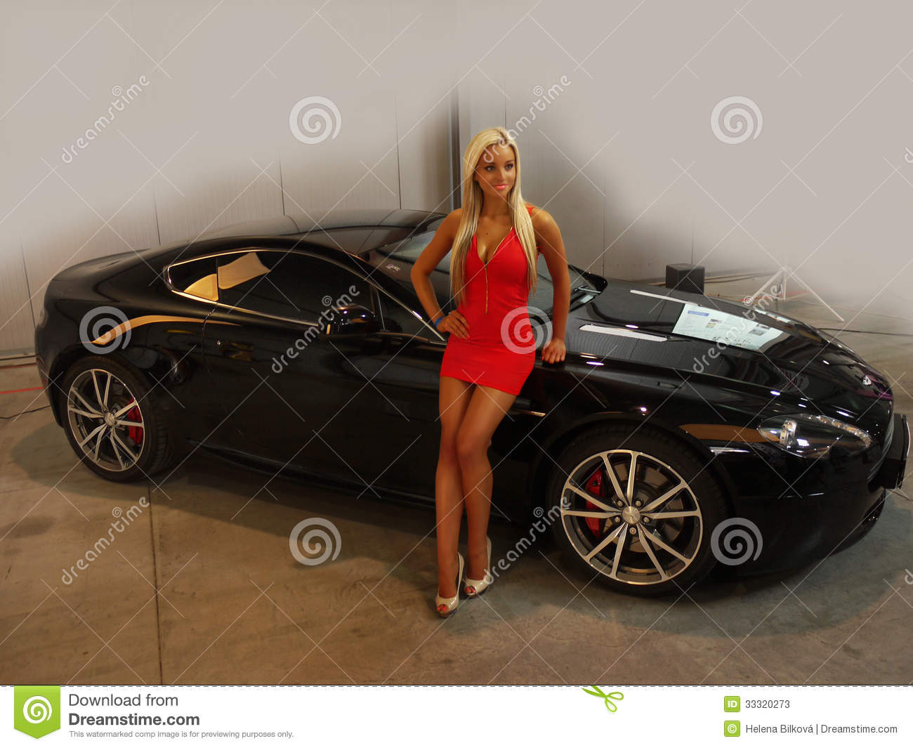 Girl Model Car Show Editorial Stock Photo Image Of Czech 33320273