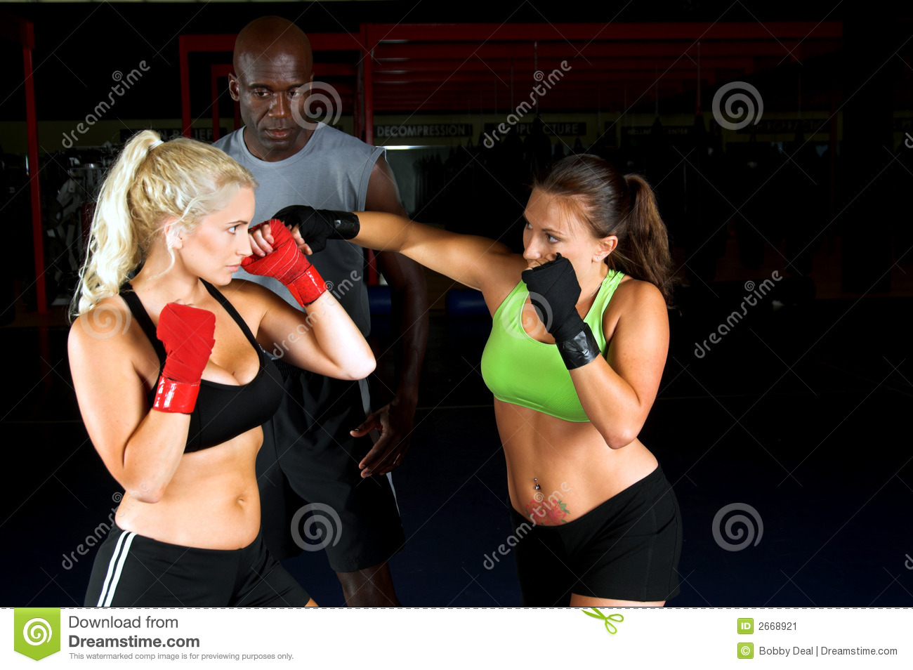 Girl Fighters Training
