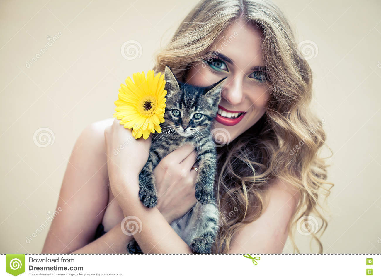 Naked girls holding cats 136 Nude Cat Girl Photos Free Royalty Free Stock Photos From Dreamstime