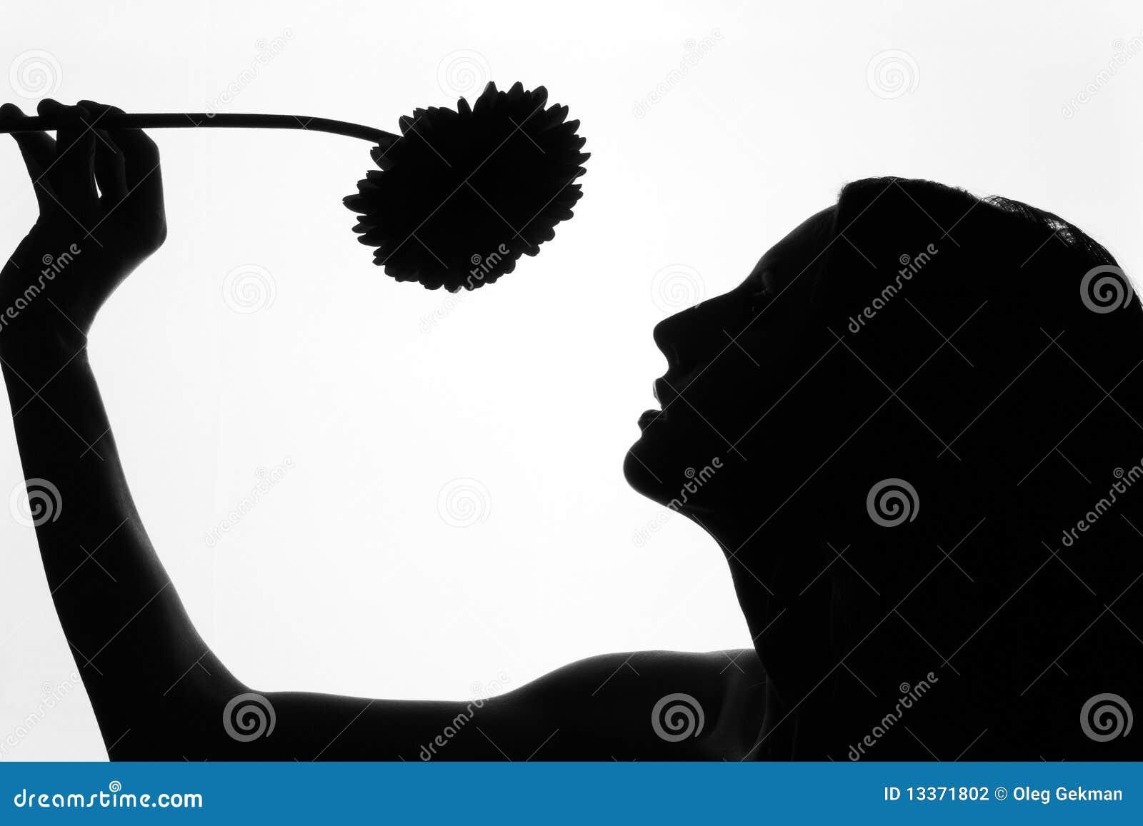 Как делают фото с черным силуэтом