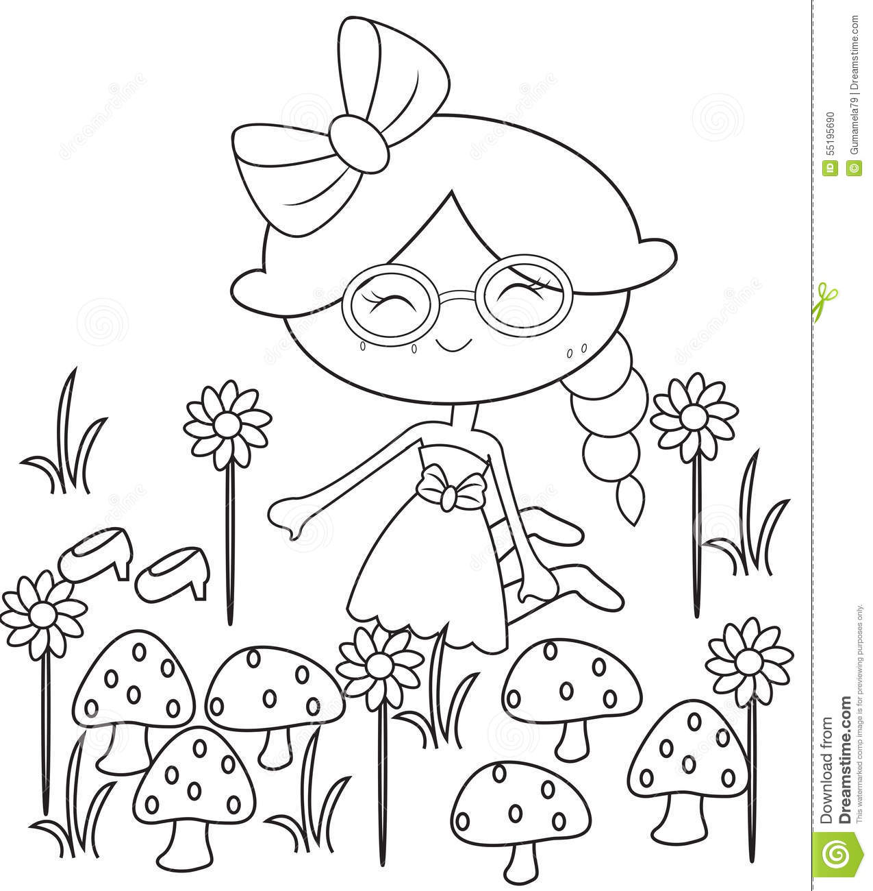 Free Flower Garden Coloring Pages, Download Free Clip Art, Free ... | 1300x1275
