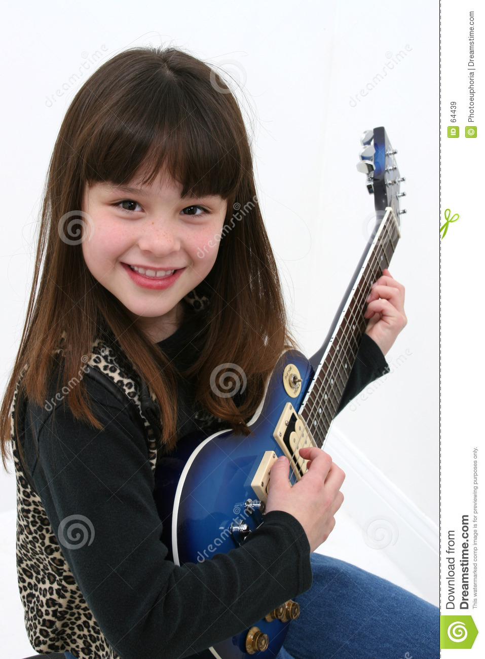girl with guitar royalty free stock images image 64439. Black Bedroom Furniture Sets. Home Design Ideas