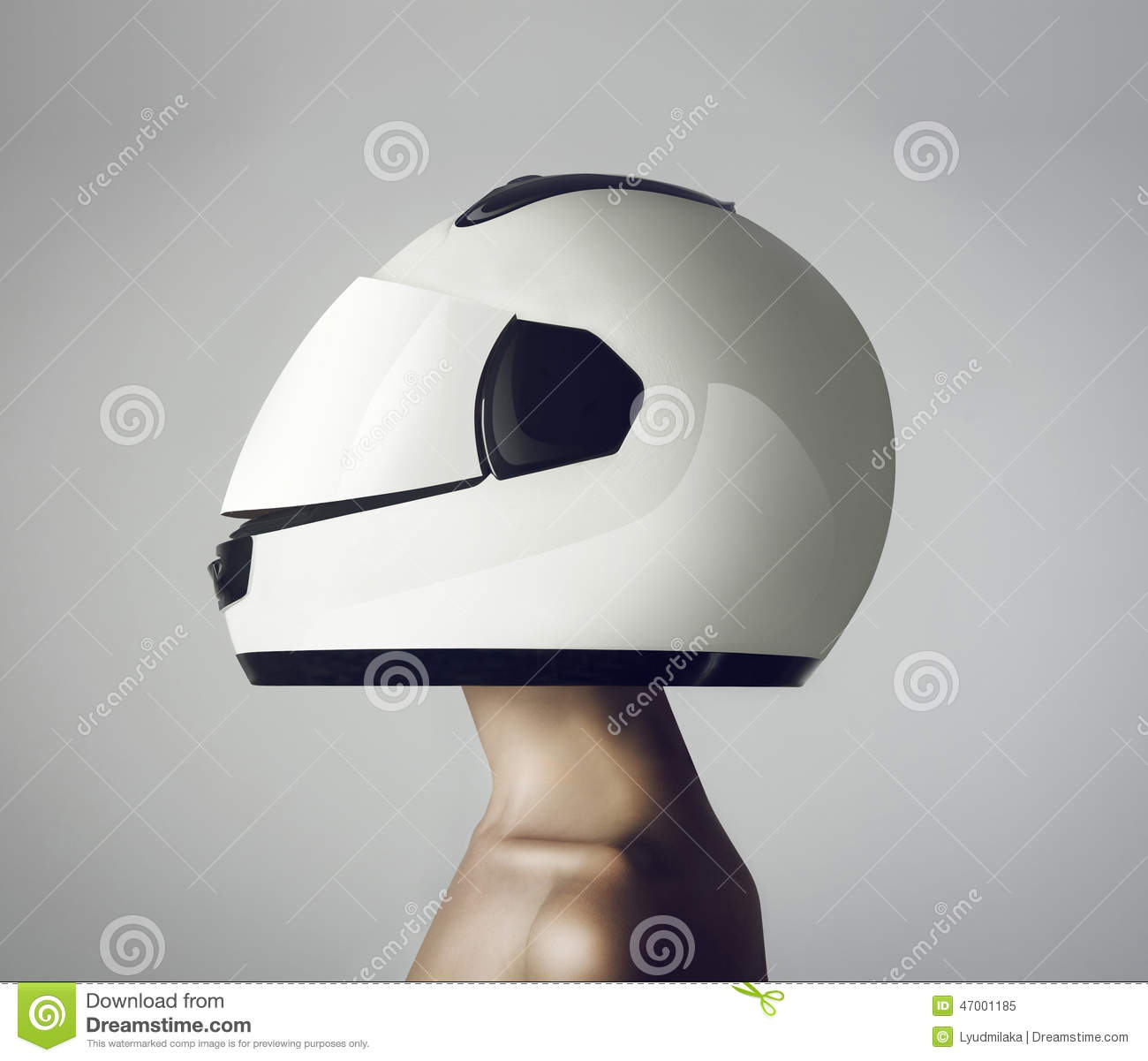 girl in astronaut helmet-#20