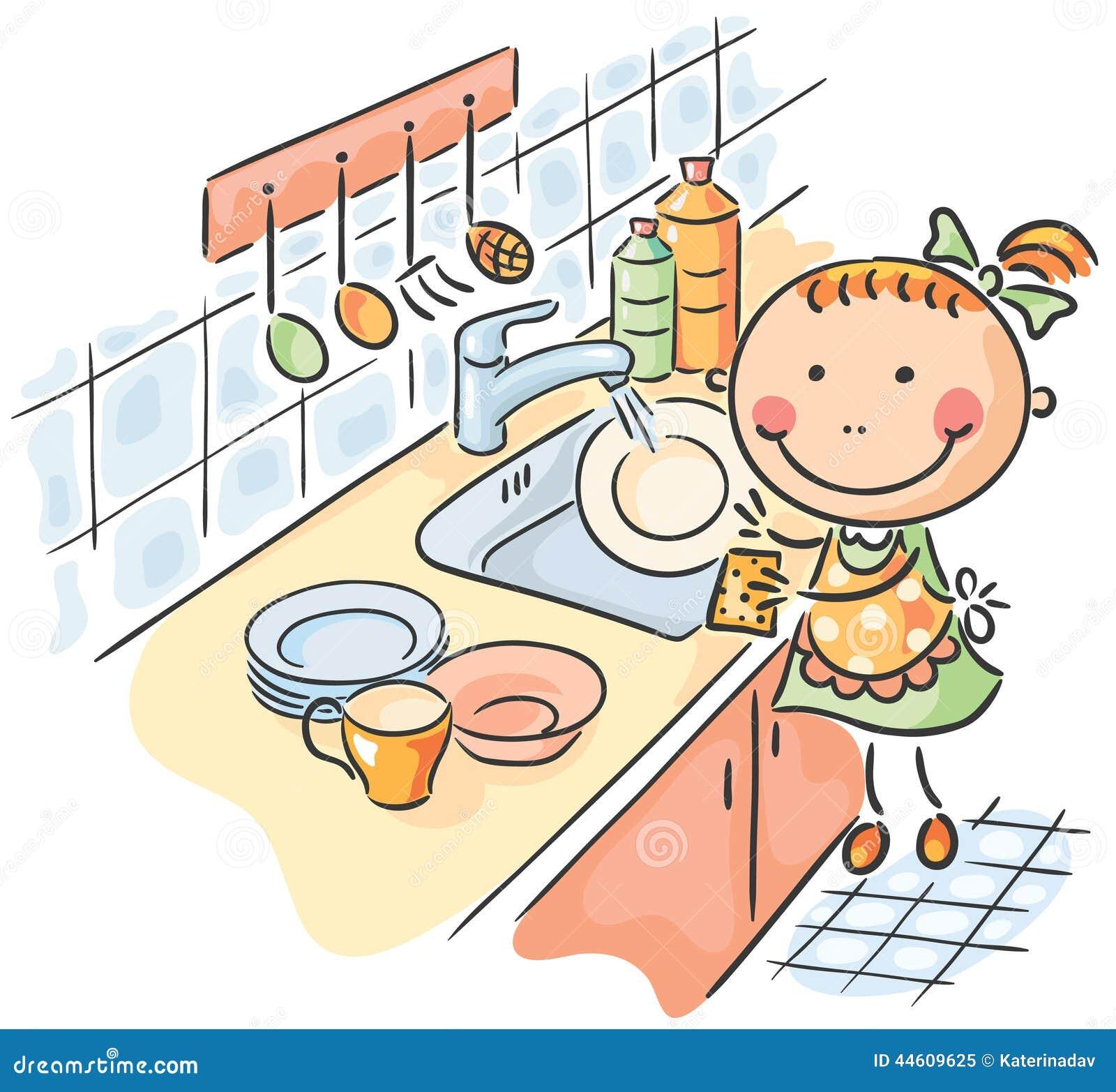 Сын мыл посуду и подошла мать 13 фотография