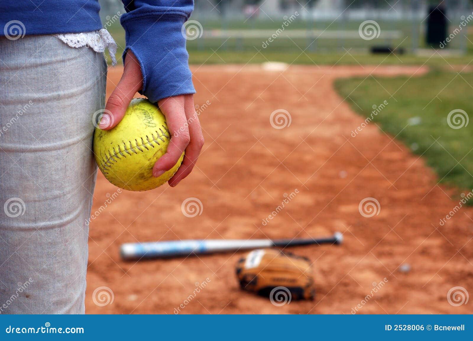 A Girl and Her Softball, Glove
