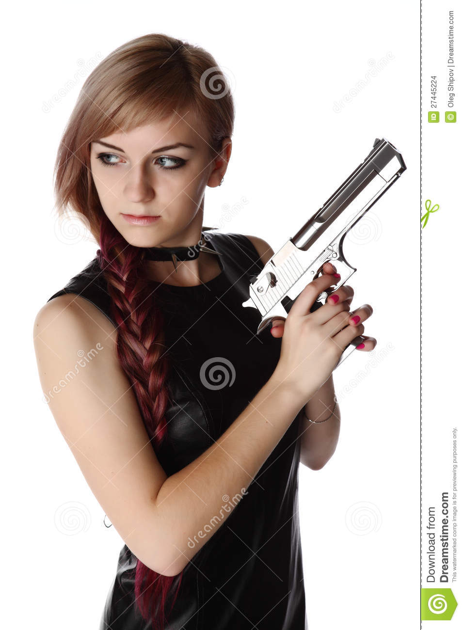 Opinion Girls nude holding guns