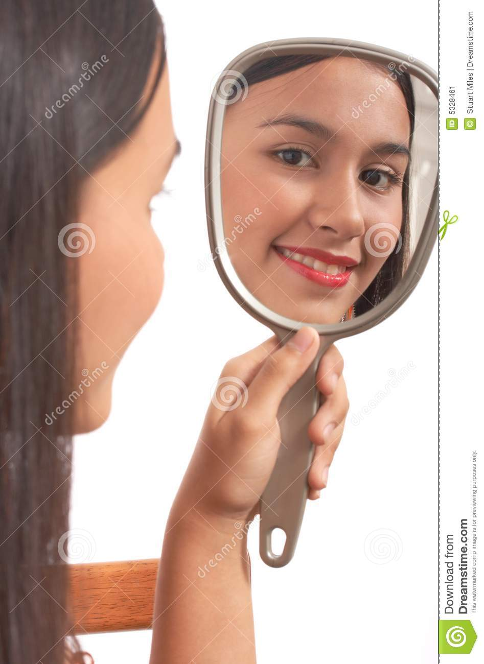 woman holding mirror. Delighful Woman Girl Holding Mirror In Woman Holding Mirror M