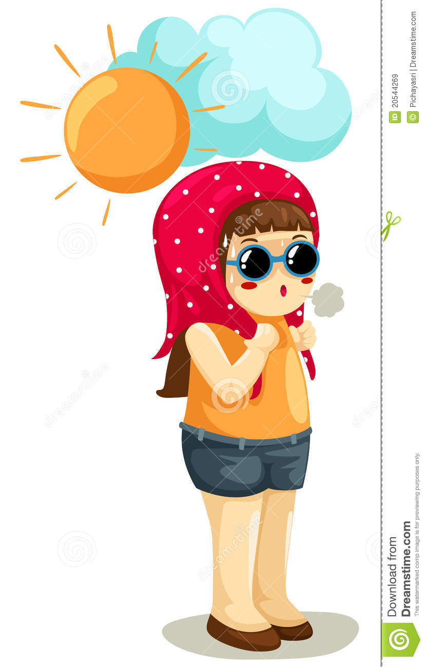 girl in hot weather stock vector illustration of object Dancing Girl Clip Art Dancing Girl Clip Art