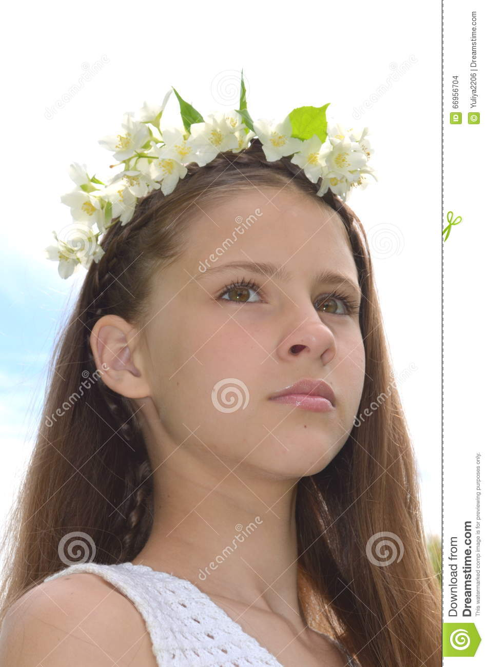 Girl with jasmine flowers stock photo image of braiding 66956704 download girl with jasmine flowers stock photo image of braiding 66956704 izmirmasajfo