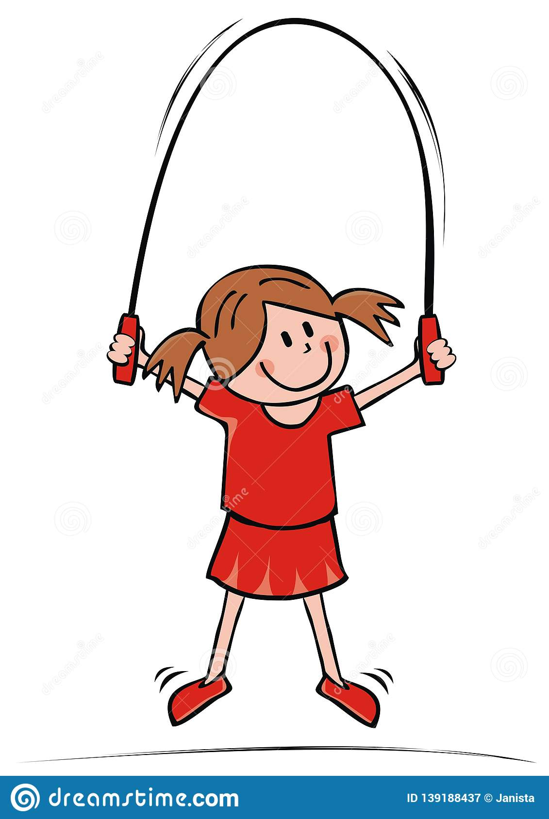 Mother and daughter jump rope - Download Free Vectors, Clipart Graphics &  Vector Art