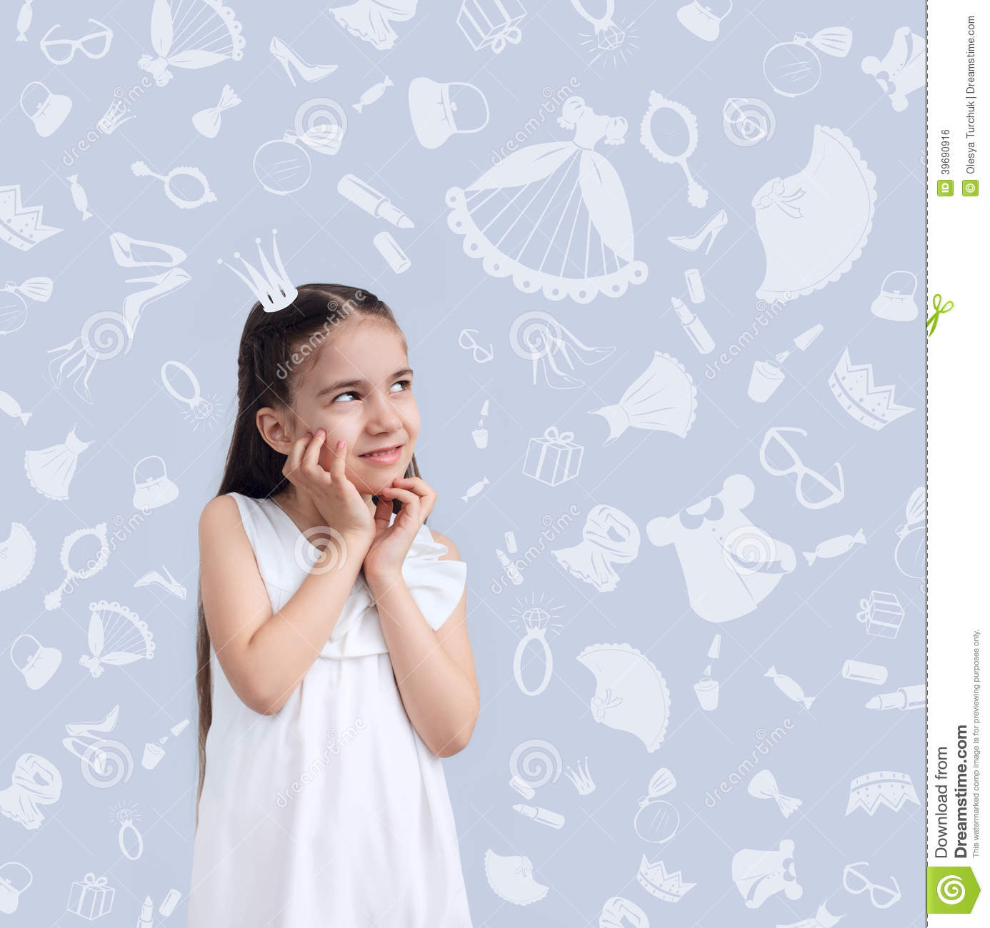 girl kid on background of texture of girl u0026 39 s things stock