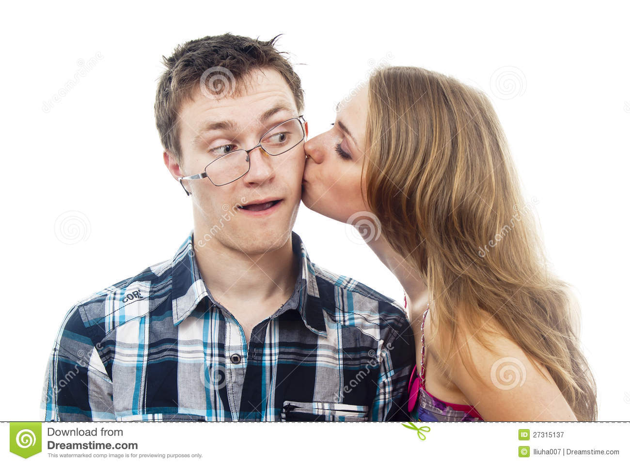 is a kiss on the cheek flirting Kissing is often a sign that your date is interested in you, but it may be difficult to guess if he wants to kiss you or not signs he's going to kiss you tonight.