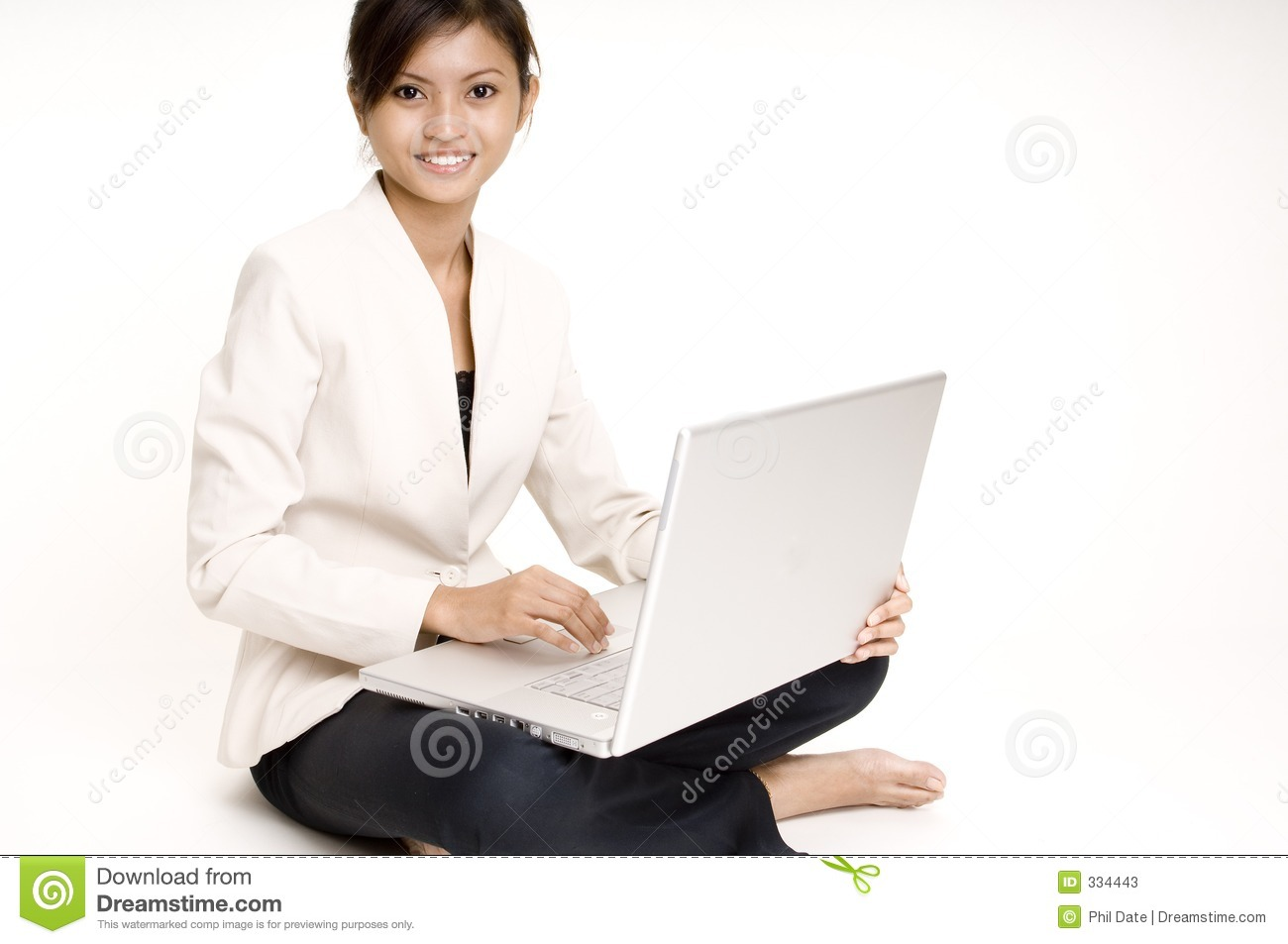 Girl With Laptop 6