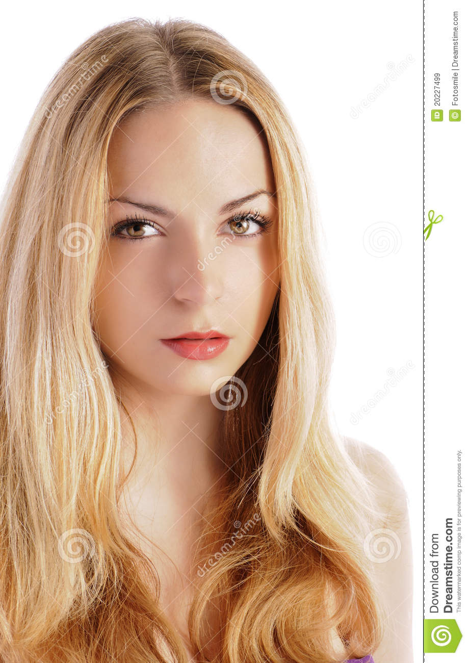 Girl with light brown eyes