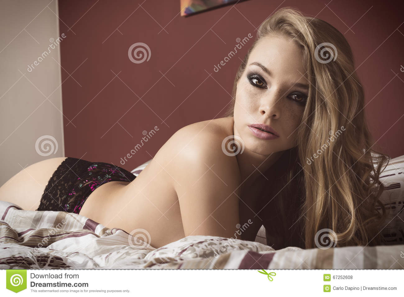 Blonde hair laying on couch naked pity, that