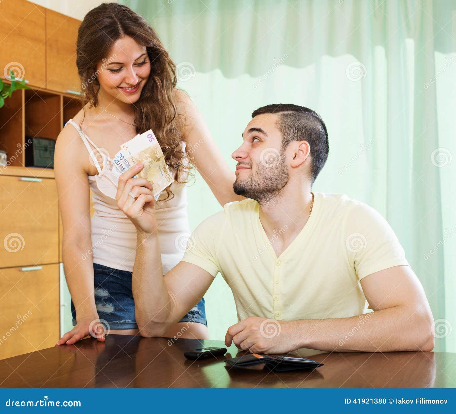 С другом свою жену