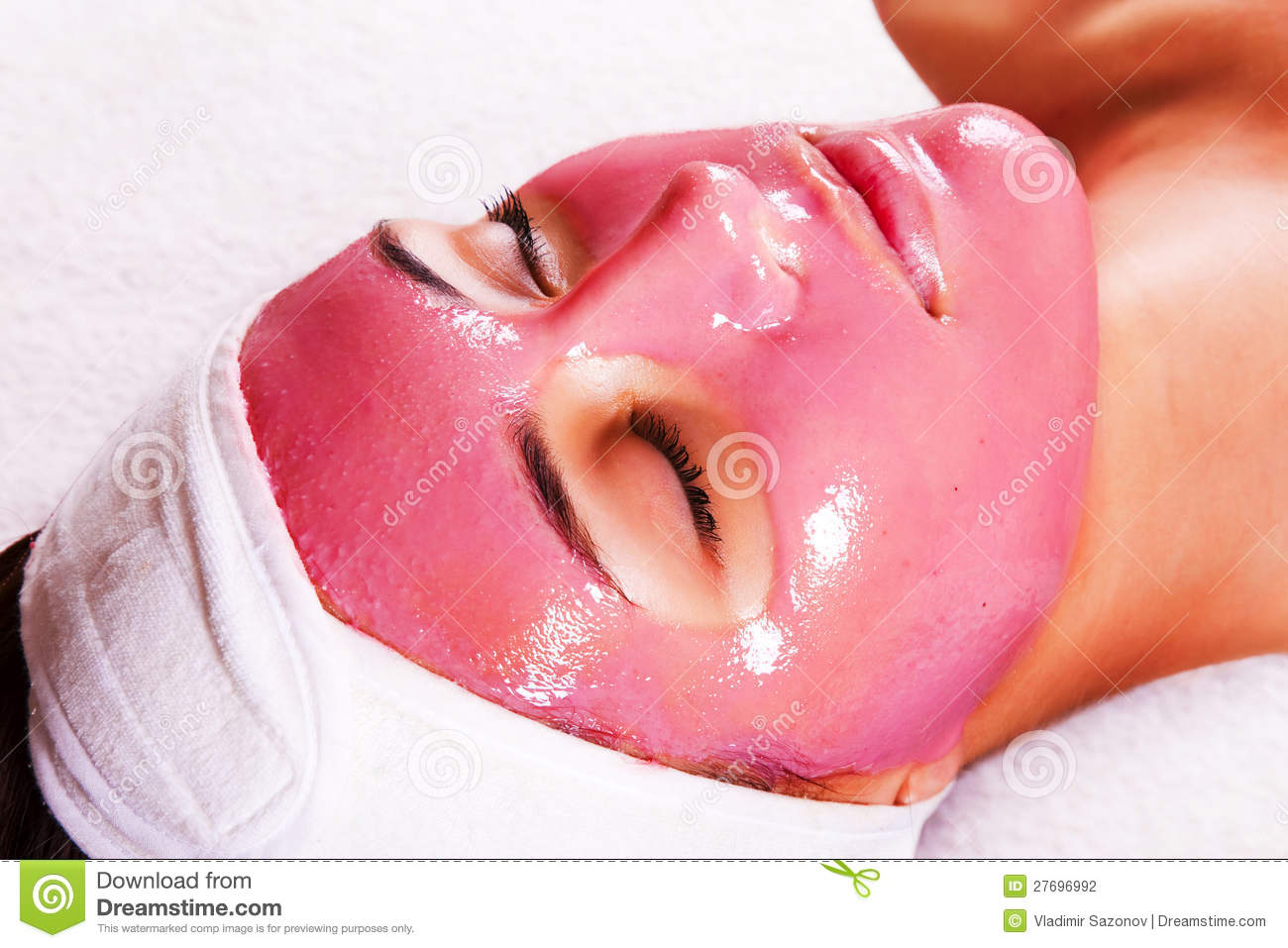 Simply does Facial fruit mask