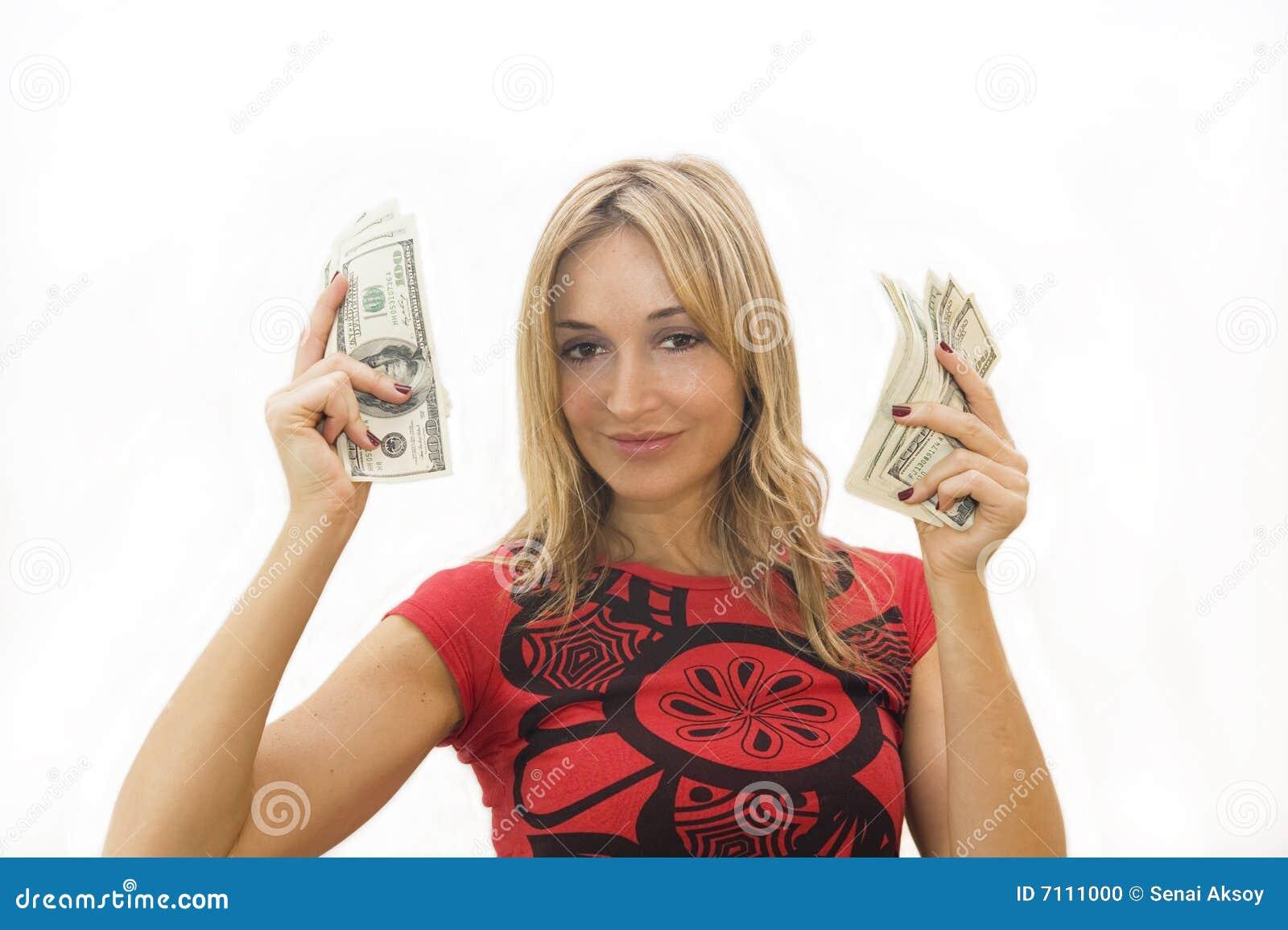 Girls in money