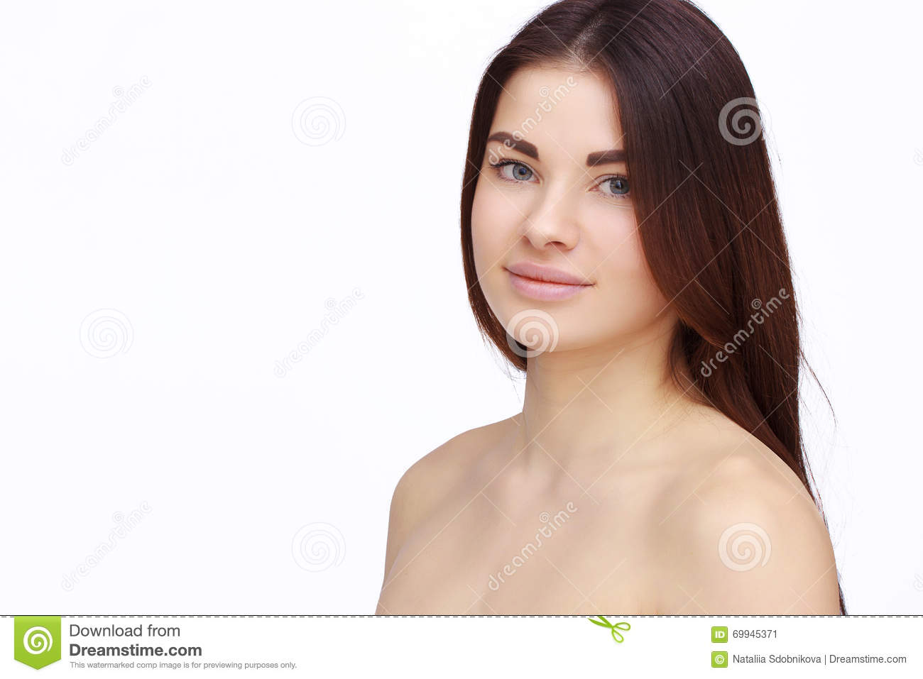 Girl With Naked Shoulders