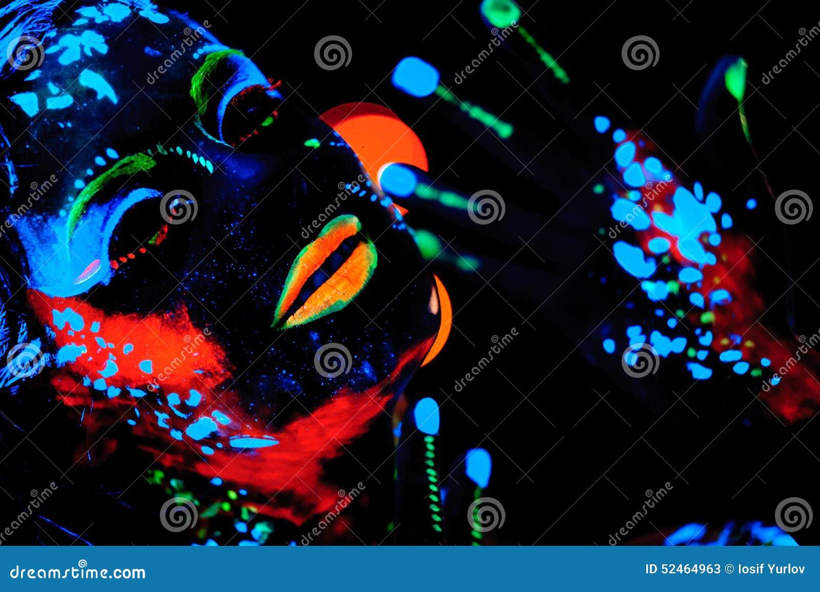 Image Gallery neon paint art