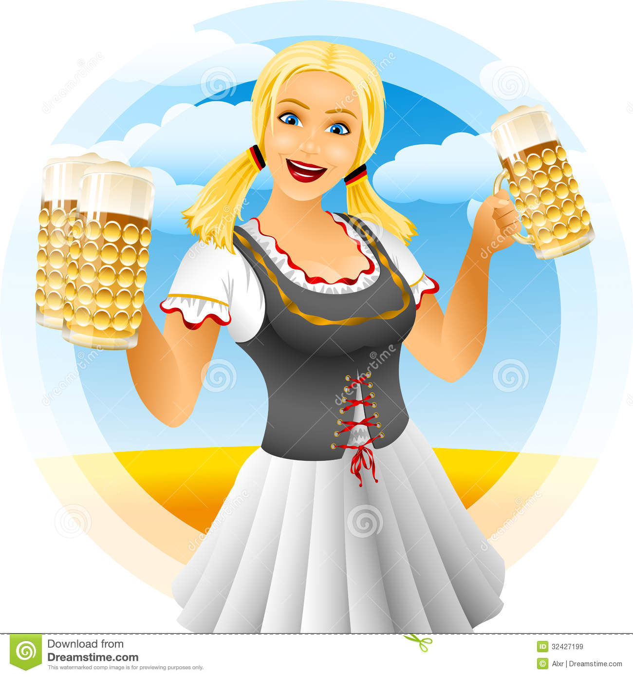 girl oktoberfest royalty free stock images image 32427199 free st patricks day clipart for facebook st patrick's day free clipart