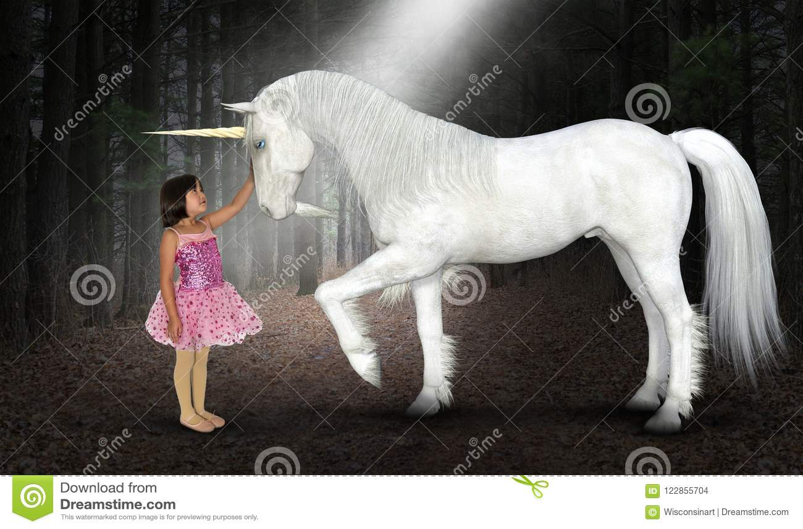 Girl, Peace, Hope, Love, Nature, Unicorn, Woods