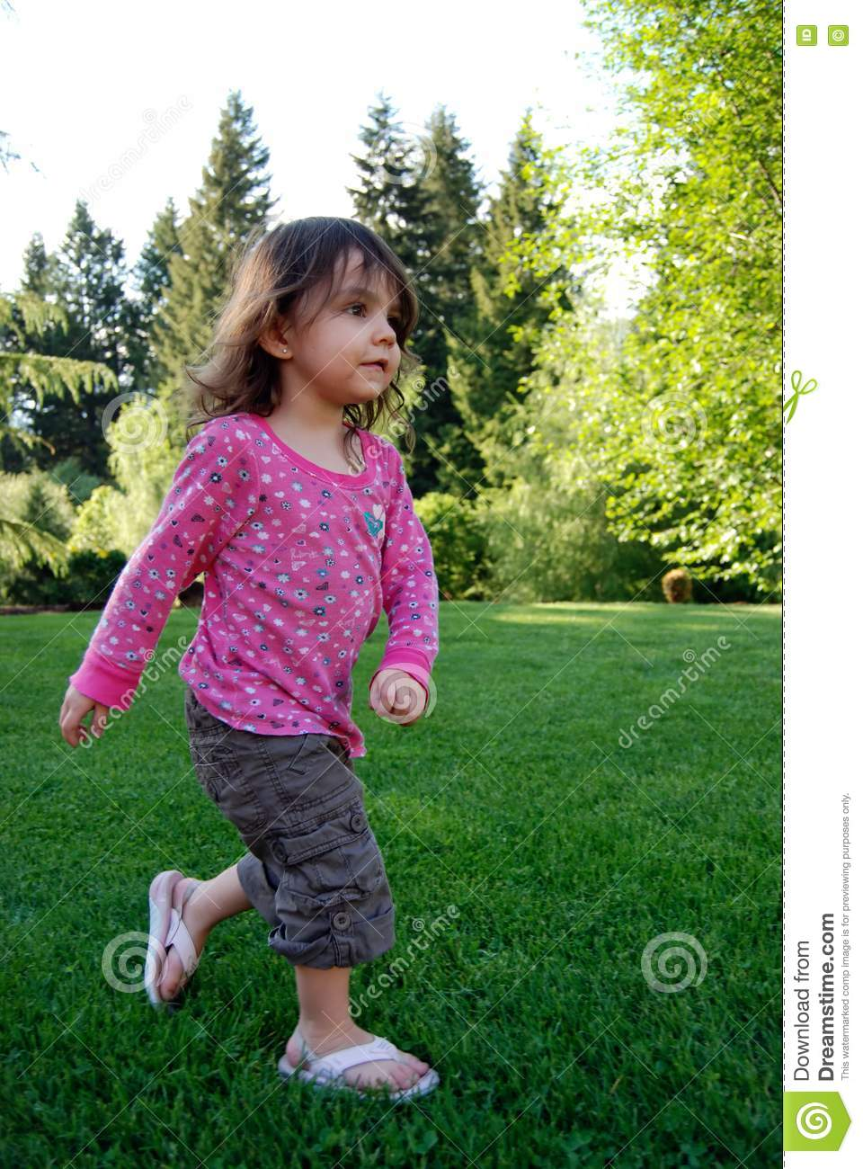 Girl Playing Picture. Image  5354897 78344dcea8a