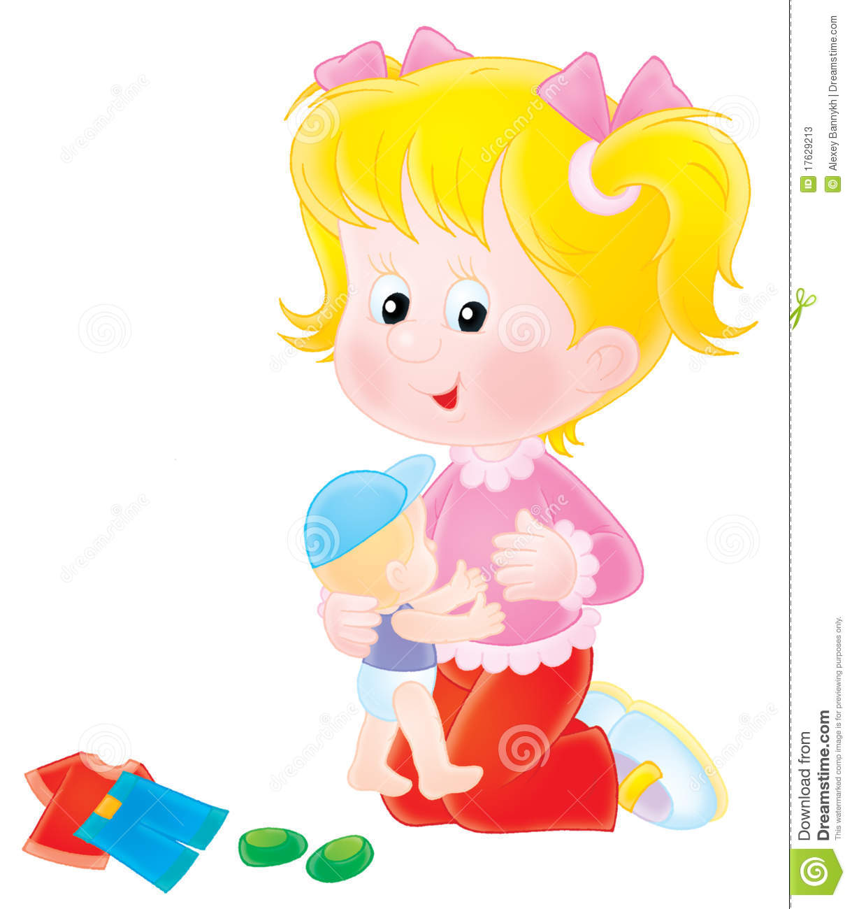 Doll Clipart Stock Illustrations 2 578 Doll Clipart Stock Illustrations Vectors Clipart Dreamstime