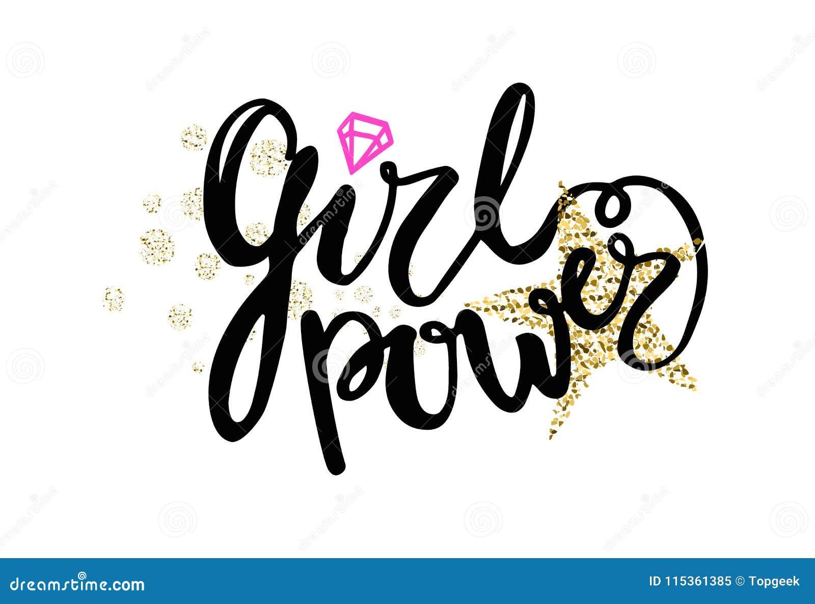Girl power colorful graffiti vector illustration stock vector jpg 1300x980 diamond graffiti drawing